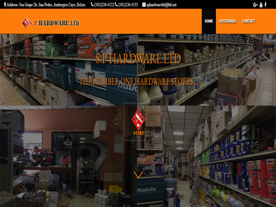 A Hardware Store Website made by Nouva Web Design and Development